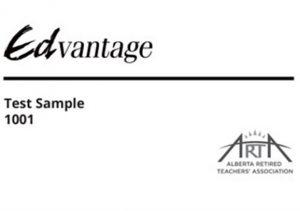 Edvantage card