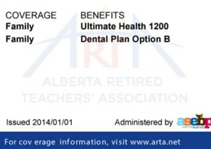 Retiree benefits ID card