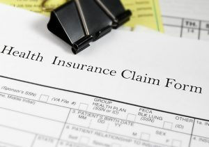 Picture of healthcare claim form