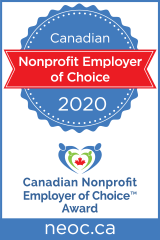 Canadian Nonprofit Employer of Choice Award for 2020
