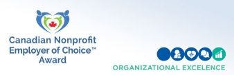 Canadian Nonprofit Employer of Choice Award announcement